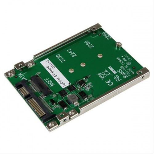 "ADAPTADOR CONVERSOR SSD M.2 a SATA 2.5"" SATRTECH.COM"