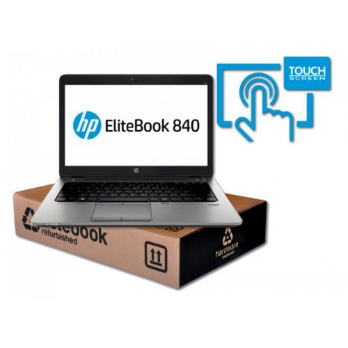 HP EliteBook 840 G2 Intel Core i5 5300U 2.3 GHz. · 8 Gb. DDR3 RAM · 256 Gb. SSD · Windows 10 Pro · Táctil 14 '' FullHD 16:9 ·