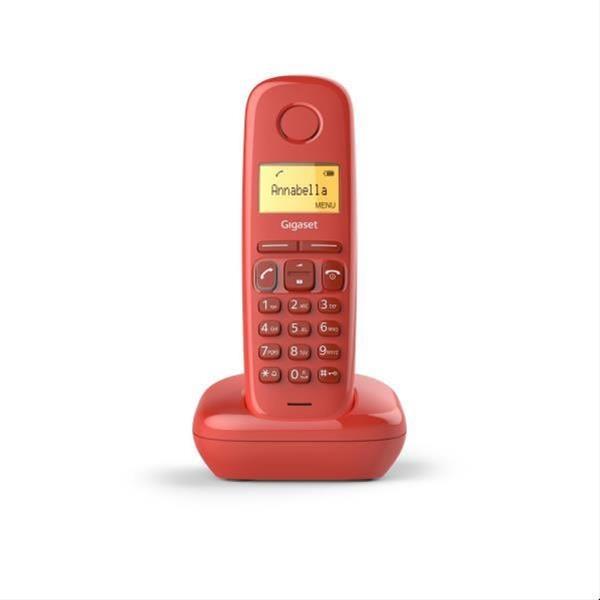 TELEFONO INALAMBRICO GIGASET A170 ROJO·