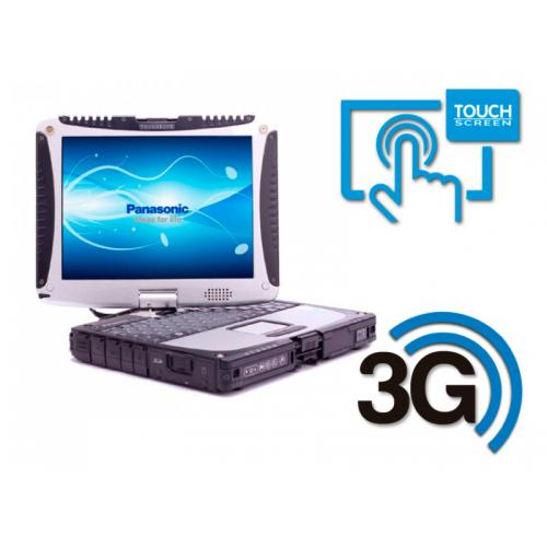 Panasonic Toughbook CF-19 MK6 Intel Core i5 3320M 2.6 GHz. · 4 Gb. SO-DDR3 RAM · 500 Gb. SATA · Windows 10 Pro · Táctil 10 '' HD