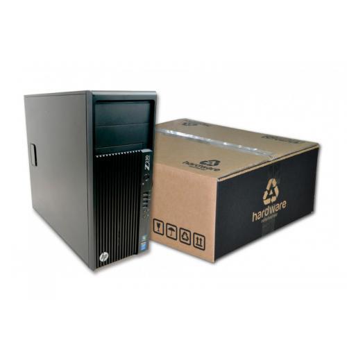 HP WorkStation Z230 Torre Intel Core i7 4770 3.4 GHz. · 16 Gb. DDR3 ECC RAM · 120 Gb. SSD · 500 Gb. SATA · DVD-RW · Windows 10 P