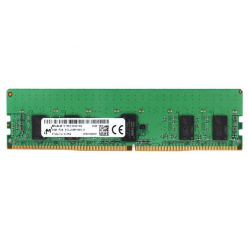 MTA9ASF1G72PZ-2G6J1 módulo de memoria 8 GB 1 x 8 GB DDR4 2666 MHz ECC