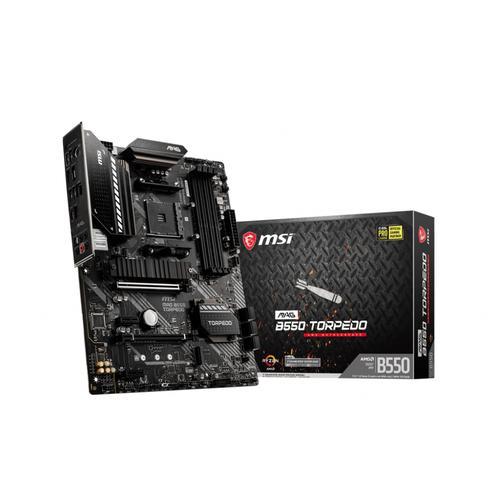 MSI MAG B550 TORPEDO placa base AMD B550 Zócalo AM4 ATX