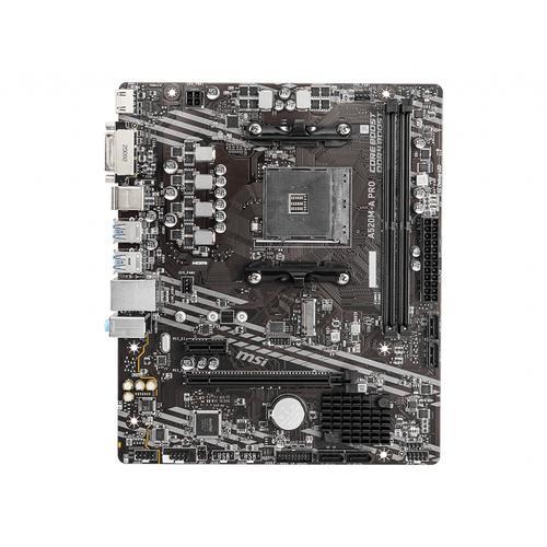 MSI A520M-A PRO placa base AMD A520 Zócalo AM4 micro ATX