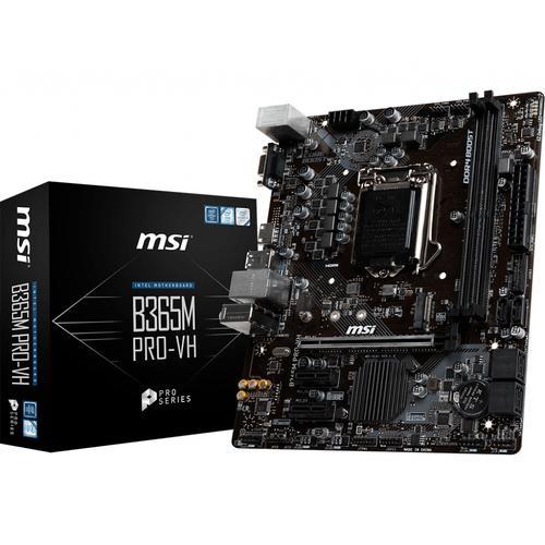 MSI B365M PRO-VH placa base Intel B365 LGA 1151 (Zócalo H4) micro ATX
