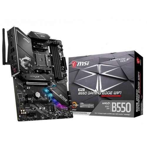 MSI MPG B550 Gaming Edge WiFi AMD B550 Zócalo AM4 ATX