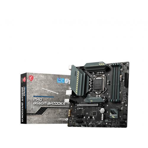 MSI MAG B560M BAZOOKA placa base Intel B560 LGA 1200 micro ATX