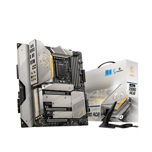 MSI MEG Z590 Ace Gold Edition Intel Z590 LGA 1200 ATX