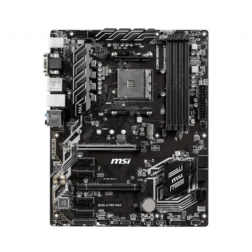 MSI B450-A PRO MAX placa base AMD B450 Zócalo AM4 ATX
