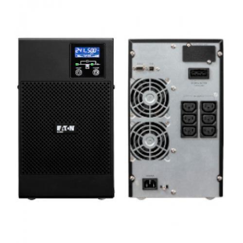 Eaton 9E 2000I sistema de alimentación ininterrumpida (UPS) Doble conversión (en línea) 2000 VA 1600 W 6 salidas AC