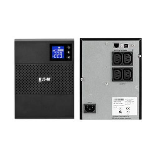 Eaton 5SC500i sistema de alimentación ininterrumpida (UPS) 500 VA 4 salidas AC