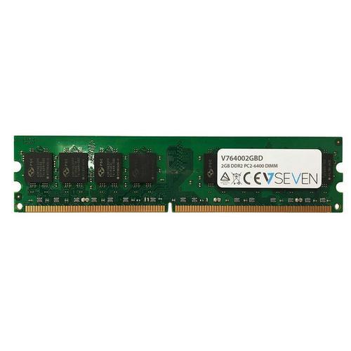 V7 V764002GBD módulo de memoria 2 GB DDR2 800 MHz - Imagen 1