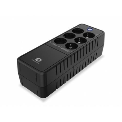 Conceptronic ZEUS05E sistema de alimentación ininterrumpida (UPS) En espera (Fuera de línea) o Standby (Offline) 0,65 kVA 360 W