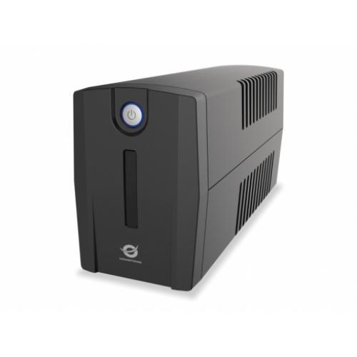 Conceptronic ZEUS01E sistema de alimentación ininterrumpida (UPS) Línea interactiva 0,65 kVA 360 W 4 salidas AC - Imagen 1
