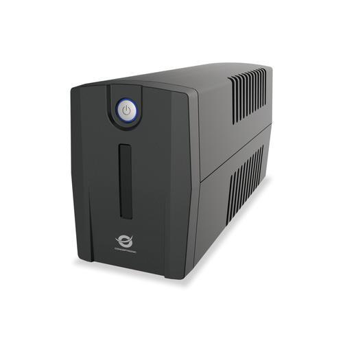 Conceptronic ZEUS01ES sistema de alimentación ininterrumpida (UPS) Línea interactiva 0,65 kVA 360 W 2 salidas AC - Imagen 1