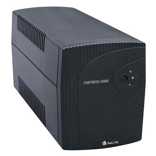 NGS FORTRESS2000 sistema de alimentación ininterrumpida (UPS) En espera (Fuera de línea) o Standby (Offline) 1500 VA 900 W - Ima