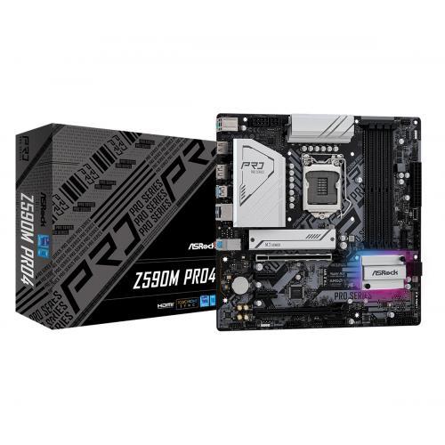 Z590M Pro4 Intel Z590 LGA 1200 micro ATX - Imagen 1