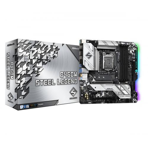 B460M Steel Legend Intel B460 LGA 1200 micro ATX - Imagen 1