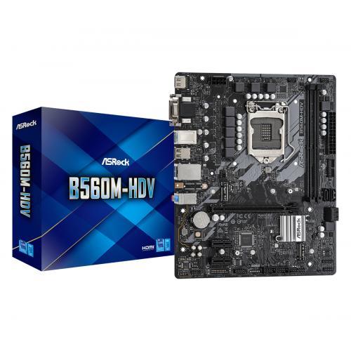 B560M-HDV Intel B560 LGA 1200 micro ATX - Imagen 1