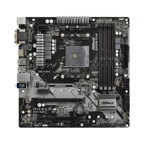 B450M Pro4 Zócalo AM4 micro ATX AMD B450 - Imagen 1