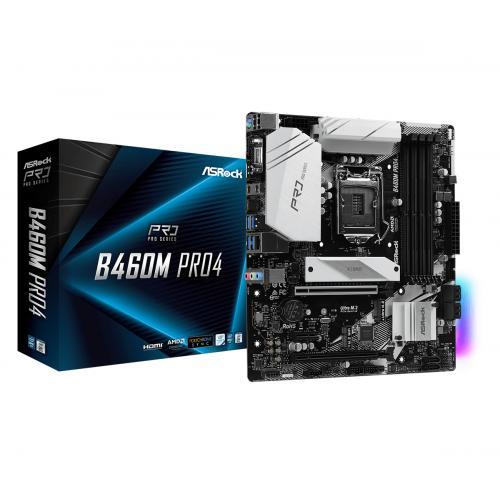 B460M Pro4 Intel B460 LGA 1200 micro ATX - Imagen 1