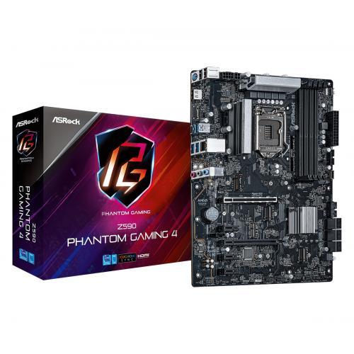 Z590 Phantom Gaming 4 Intel Z590 LGA 1200 ATX - Imagen 1
