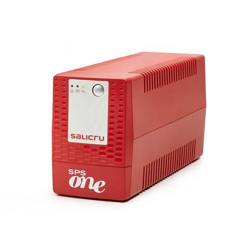 Salicru SPS ONE sistema de alimentación ininterrumpida (UPS) Línea interactiva 900 VA 480 W 2 salidas AC - Imagen 1