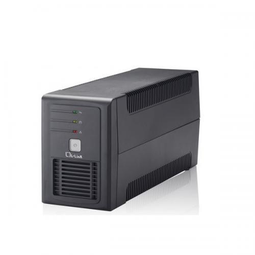 LL-5707 sistema de alimentación ininterrumpida (UPS) Línea interactiva 0,7 kVA 360 W 2 salidas AC - Imagen 1