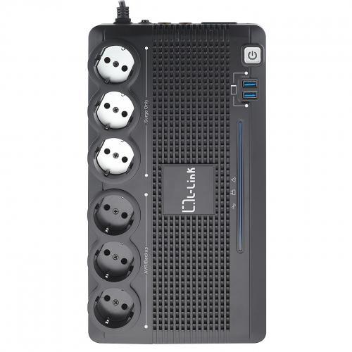 LL-700-G6 sistema de alimentación ininterrumpida (UPS) Línea interactiva 0,7 kVA 360 W 6 salidas AC - Imagen 1