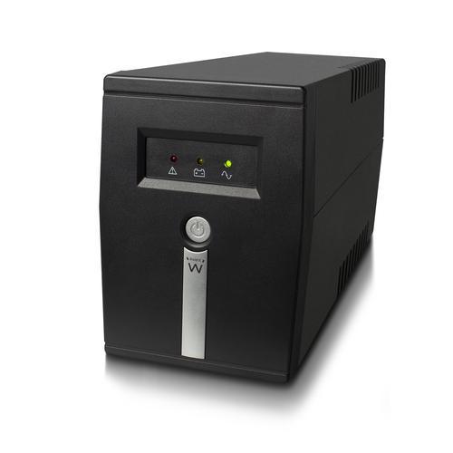 Ewent EW3946 sistema de alimentación ininterrumpida (UPS) Línea interactiva 600 VA 360 W 1 salidas AC - Imagen 1