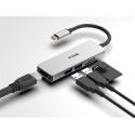 HUB DLINK USB-C 5EN1 CON HDMI / 2xUSB3.0 / LECTOR DE TARJETAS