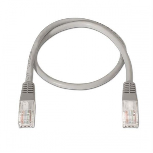 CABLE RED LATIGUILLO RJ45 CAT.6 UTP LSZH 2M GRIS NANOCABLE