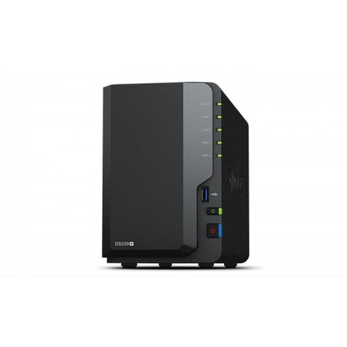 NAS SYNOLOGY 2 BAY DS220+ 2GB DDR 2X G·