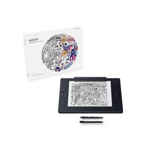 Intuos Pro Paper L South tableta digitalizadora 5080 líneas por pulgada 311 x 216 mm USB/Bluetooth Negro - Imagen 1