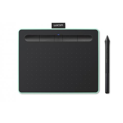 Intuos M Bluetooth tableta digitalizadora Negro, Verde 2540 líneas por pulgada 216 x 135 mm USB/Bluetooth - Imagen 1