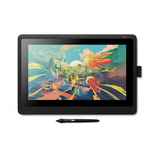 Cintiq 16 tableta digitalizadora Negro 5080 líneas por pulgada 344,16 x 193,59 mm