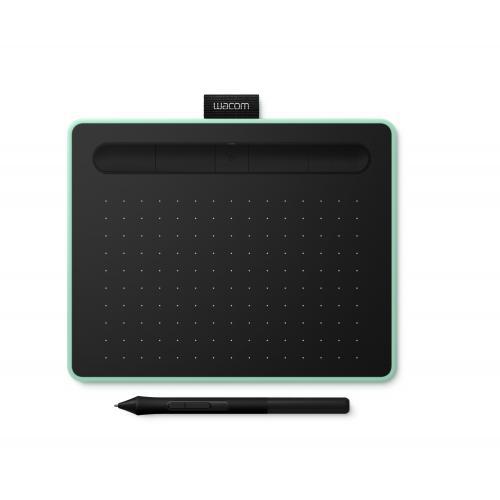 Intuos S Bluetooth tableta digitalizadora Verde, Negro 2540 líneas por pulgada 152 x 95 mm USB/Bluetooth