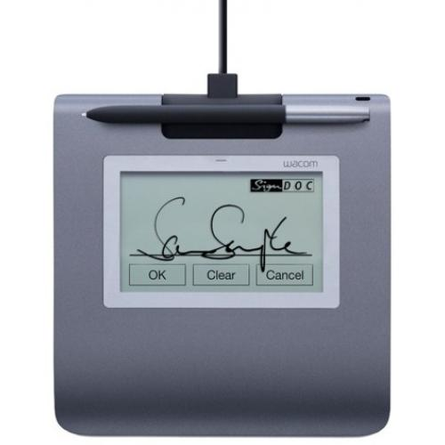 STU-430 Signature pad tableta digitalizadora 2540 líneas por pulgada 96 x 60 mm USB Negro, Gris