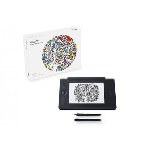 Intuos Pro Paper Edition M South tableta digitalizadora Negro 5080 líneas por pulgada 224 x 148 mm USB/Bluetooth