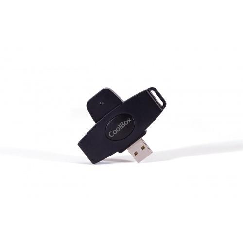 LECTOR DNI PORTATIL USB COOLBOX