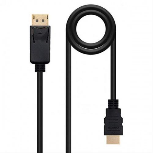 CABLE CONVERSOR DP A HDMI, DP/M-HDMI/M, 2M NANO