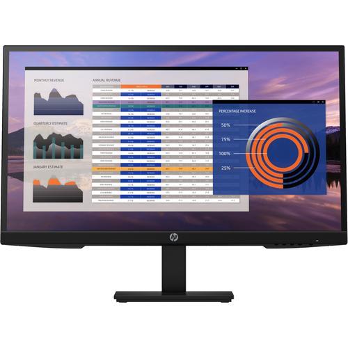 "HP P27h G4 - FHD/LED/ HDMI (HDCP)/VGA-Monitor -27"" - Imagen 1"