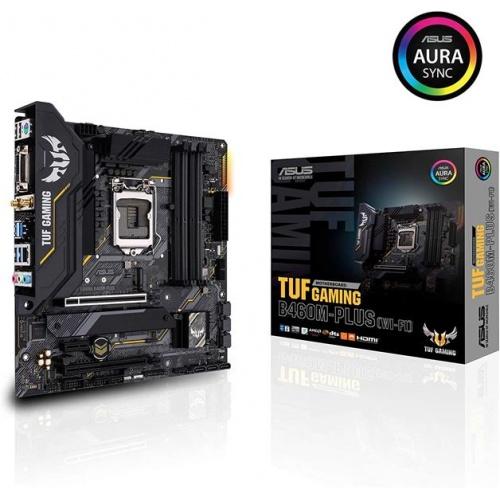 PLACA I3/I5/I7 ASUS B460M-PLUS WIFI TUF GAMING DDR4 SOCKET 1200 GEN10