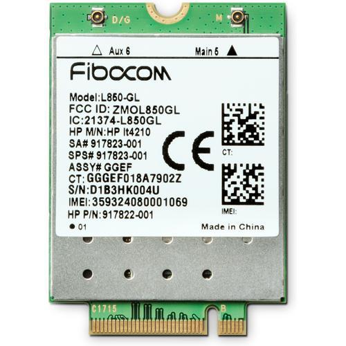 HP XMM 7360 4G LTE Advance WWAN 150Mbps