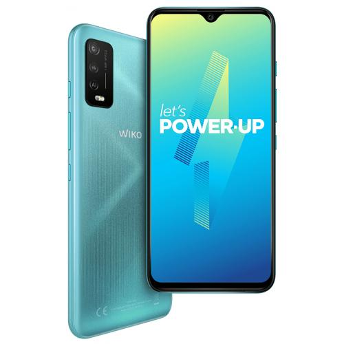 "POWER U10 17,3 cm (6.82"") SIM doble Android 11 4G 3 GB 32 GB 5000 mAh Turquesa - Imagen 1"
