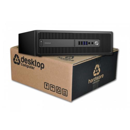 HP EliteDesk 800 G1 i7 Intel Core i7 4790 3.6 GHz. · 16 Gb. DDR3 RAM · 240 Gb. SSD · 500 Gb. SATA · DVD · Windows 10 Pro