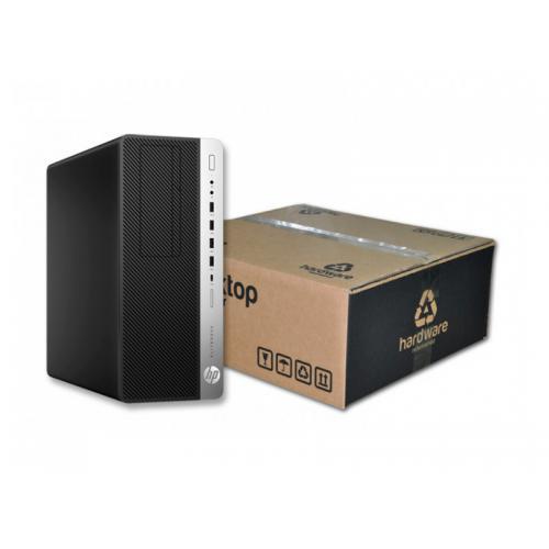 HP EliteDesk 800 G3 Torre Intel Core i7 6700 3.4 GHz. · 16 Gb. DDR4 RAM · 240 Gb. SSD · 500 Gb. SATA · Windows 10 Pro · 2xDispla
