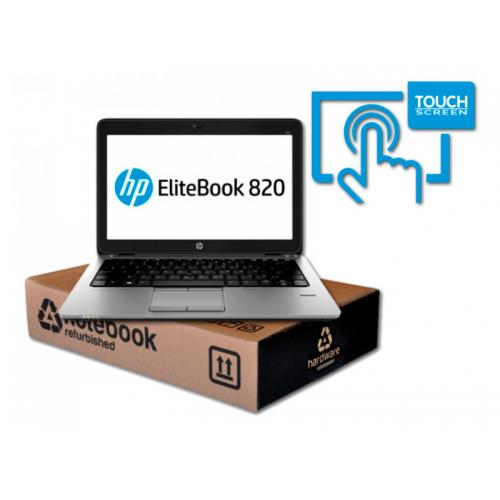 HP Elitebook 820 G2 i5 Intel Core i5 5300U 2.3 GHz. · 8 Gb. SO-DDR3 RAM · 500 Gb. SATA · Teclado internacional con pegatinas en