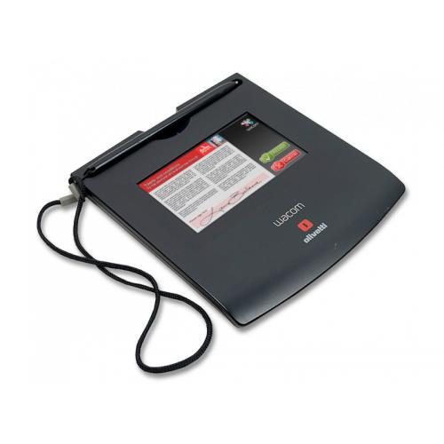 Wacom Tablet Digital STU-520 Tecnología: TFT LCD 4,7'' - Resolución: 800 x 480 - Pixel Pitch: 0.135mm - Brillo: 168 cd/m2 - Cont