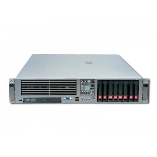 HP Proliant DL380 G7 2x Intel Xeon X5650 2.67 GHz. · 16 Gb. DDR3 ECC RAM · 18 bahías (10 vacías ) · 8x 72 Gb. SAS 2.5'' 10000rp